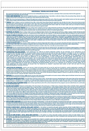 500nm New Mexico Manufactured Housing Purchase Agreement
