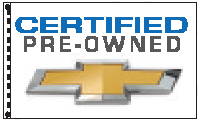 chevrolet certified pre owned dealer flag. Cars Review. Best American Auto & Cars Review