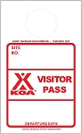 KOA Red Visitor Pass