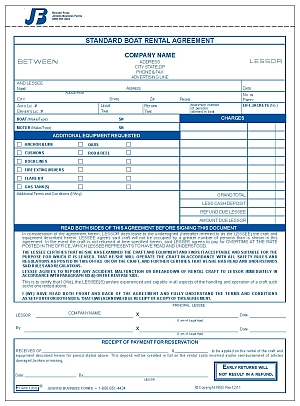 Vehicle Purchase Agreement >> 1958 Boat Rental Agreement