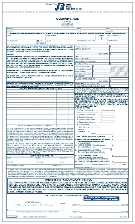 Vehicle Order Form  KakTakTk
