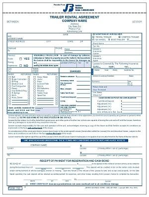 735 trailer rental agreement. Black Bedroom Furniture Sets. Home Design Ideas