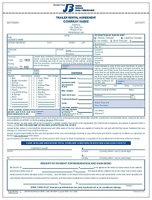 735tdi trailer rental agreement. Black Bedroom Furniture Sets. Home Design Ideas