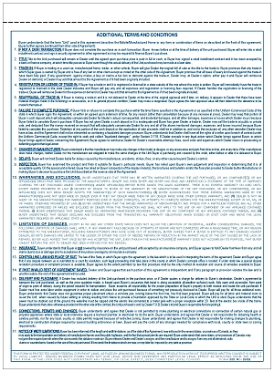 Manufactured Housing Purchase Agreement Jb Forms