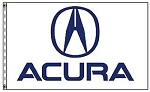 3' x 5' Acura Dealer Flag