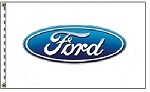 3' x 5' Ford Dealer Flag