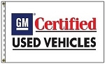 2.5' x 3.5' GM Certified Used Vehicles Flag