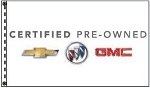 2.5' x 3.5' Certified Pre-Owned Chevrolet Buick GMC