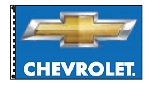 2.5' x 3.5' Chevrolet Dealer Flag