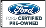 2.5' x 3.5' Ford Certified Pre-Owned Dealer Flag