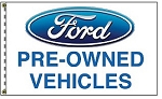 2.5' x 3.5' Ford Pre-Owned Dealer Flag