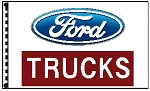 2.5' x 3.5' Ford Trucks Dealer Flag