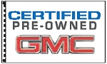 2.5' x 3.5' GMC Certified Pre-Owned Dealer Flag