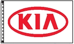 2.5' x 3.5' Kia Dealer Flag