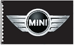 3' x 5' Mini Cooper Dealer Flag