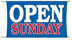 Open Sunday Banner