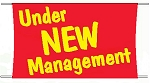 Under New Management Banner