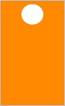 High Visibility Orange Custom Pass - Face Only