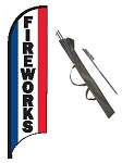 Fireworks Feather Flag Kit