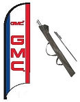 GMC Dealer Feather Flag Kit