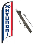 Hyundai Dealer Feather Flag Kit