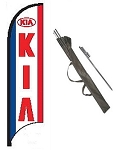Kia Dealer Feather Flag Kit