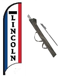Lincoln Dealer Feather Flag Kit