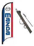 Mazda Dealer Feather Flag Kit