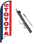 Toyota Dealer Feather Flag Kit