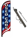 Used Cars Feather Flag Kit