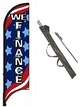 We Finance Feather Flag Kit