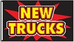 3' x 5' New Trucks Firecracker Flag