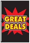 4' x 6' Great Deals Firecracker Flag