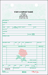 GSF-221 Florist Sales 2-Part Register Form