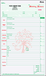 WFCC-648 Wedding Flower Order Form