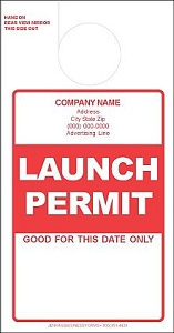 Red Launch Permit