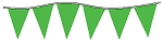Neon Green Plasticloth Pennants