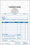 PH-211 3-Part Pharmacy Register Form