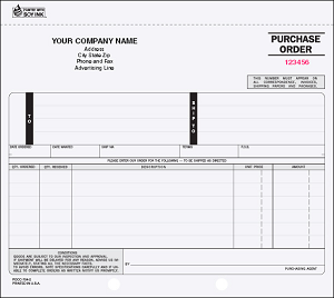 PO-703 4-Part Purchase Order