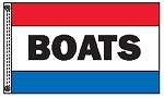 BOATS 3' x 5' Message Flag