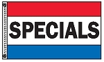 SPECIALS 3' x 5' 2-Sided Message Flag