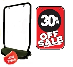 Single Sided Swing Sign Kit - 30% OFF SALE