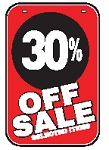 Swing Sign Replacement Single Sided Sign - 30% OFF SALE