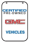 Swing Sign Replacement Single Sided Sign - CERTIFIED PRE-OWNED GMC VEHICLES