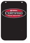 Swing Sign Replacement Single Sided Sign - TOYOTA CERTIFIED PRE-OWNED VEHICLES