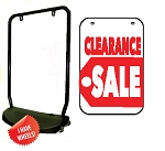 Single Sided Swing Sign Kit - CLEARANCE SALE