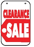 Swing Sign Replacement Single Sided Sign - CLEARANCE SALE