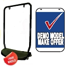 Double Sided Swing Sign Kit - DEMO MODEL MAKE OFFER
