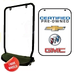 Double Sided Swing Sign Kit - CERTIFIED PRE-OWNED CHEVROLET BUICK GMC