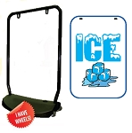 Single Sided Swing Sign Kit - ICE